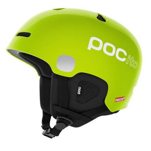 POC - POCito Auric Cut SPIN Fluorescent Yellow/Green Bike Helmet