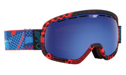 Spy - Marshall Spy + TSL + Vizie Snow Goggles / Happy Rose Dark Blue Spectra Lenses