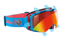 Julbo - Aerospace Blue / Red Goggles, Snow Tiger Lenses