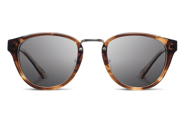 Shwood - Ainsworth Acetate Bourbon / Grey Polarized Sunglasses