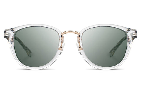 Shwood - Ainsworth Acetate Crystal / G15 Sunglasses