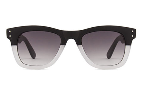 Komono - Allen Matte Black Transparent Sunglasses