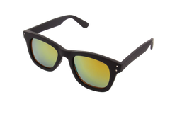 Komono - Allen Black Rubber Sunglasses