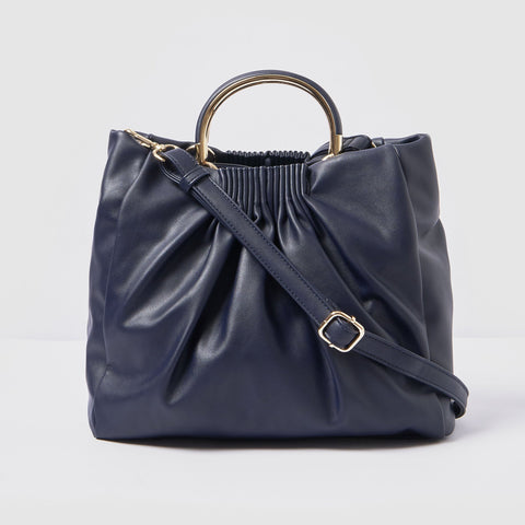 Urban Originals - Almost Mine Navy  Slouchy Bag /  Lenses