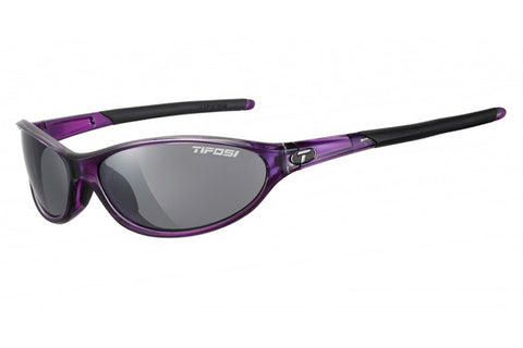 Tifosi - Alpe 2.0 Crystal Purple Sunglasses, Smoke Polarized Lenses
