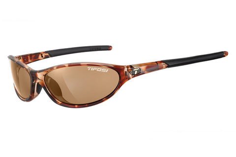 Tifosi - Alpe 2.0 Tortoise Sunglasses, Brown Polarized Lenses