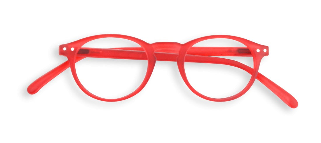 Izipizi - #A Red Crystal Reader Eyeglasses / +2.00 Lenses