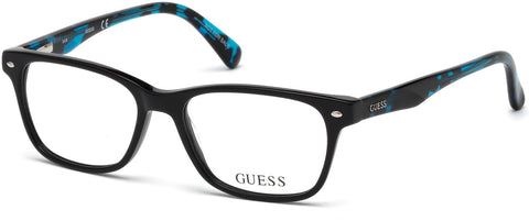 Guess - GU9172 Shiny Black Eyeglasses / Demo Lenses