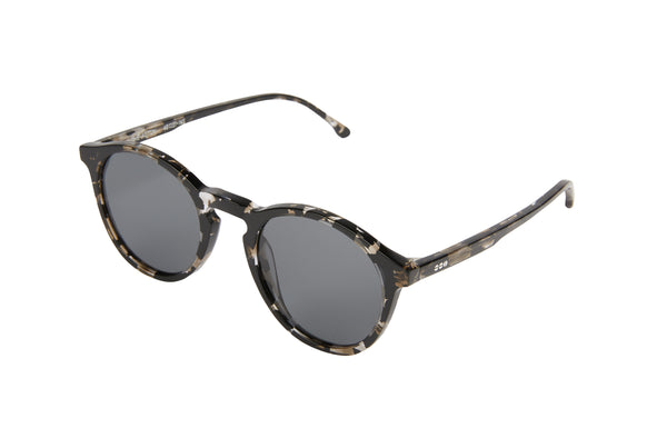 Komono - Aston Clear Demi Sunglasses / Smoke Lenses