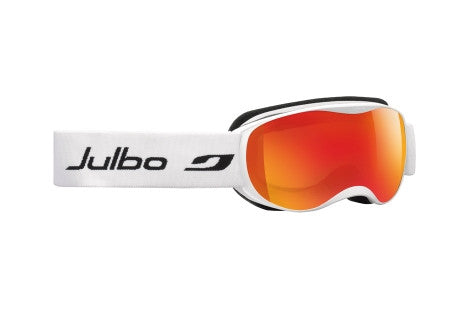 Julbo - ATMO White Goggles, Mirror Spectron Cat. 3 Double Lenses