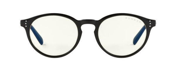 Gunnar - Attache Onyx Eyeglasses / Liquet Blue Light Lenses