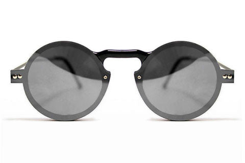 Spitfire - Aurora 2 Black Sunglasses, Silver Mirror Lenses