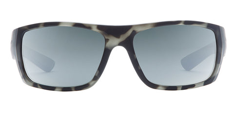 Native - Distiller Matte Gray Tortoise Sunglasses / Silver Reflex Lenses