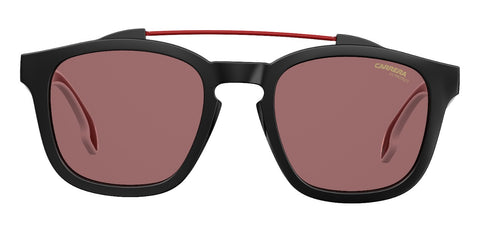 Carrera - 1011 Black Sunglasses / Burgundy Lenses