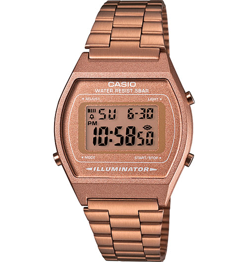 Casio - B640WC-5AVT Vintage Collection Rose Gold Watch