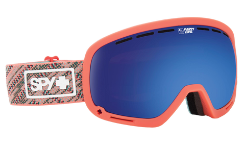 Spy - Marshall Spy Knit Blush Snow Goggles / Happy Rose Dark Blue Spectra Lenses
