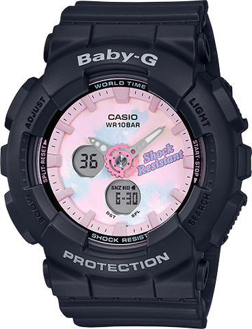 Baby-G - BA120T-1A Black Pink Watch