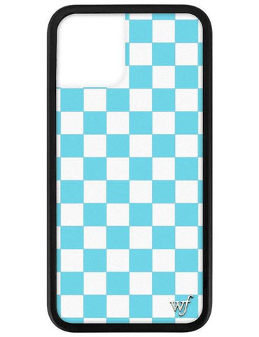 Wildflower - Blue Checkers iPhone 11 Pro Phone Case