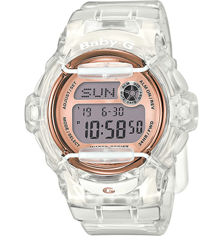 Baby-G - BG169G-7B White Rose Gold Watch