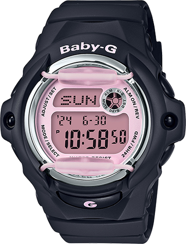 Baby-G - BG169M-1 Black Pink Watch