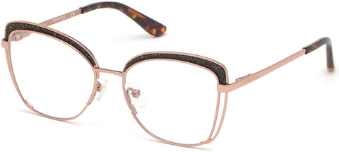 Marciano - GM0344 Shiny Rose Gold Eyeglasses / Demo Lenses