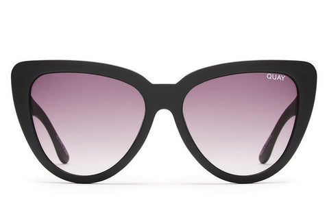 Quay Stray Cat Black / Smoke Sunglasses