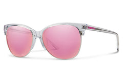 Smith - Rebel Crystal Sunglasses, Pink Mirror Lenses