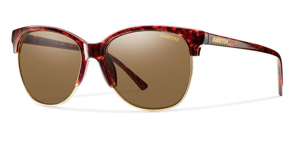 Smith - Rebel Vintage Havana Sunglasses, Brown Polarized Lenses