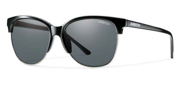 Smith - Rebel Black Sunglasses, Polarized Gray Lenses