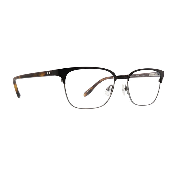 Badgley Mischka - Bendix 53mm Black Eyeglasses / Demo Lenses