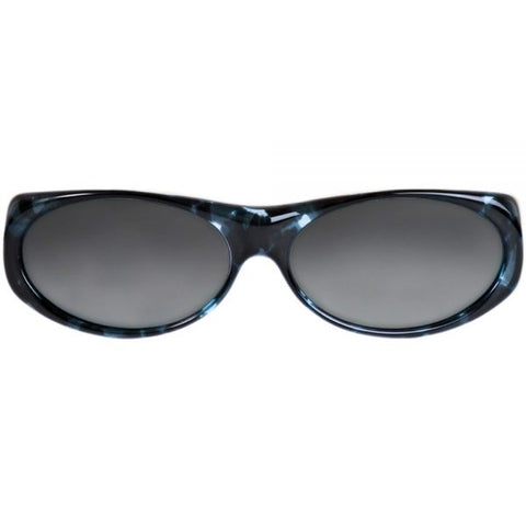 Jonathan Paul Fitovers - Binya Blue Cloud Fitover Sunglasses / Polarvue Gray Lenses