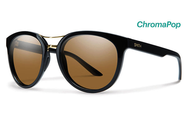 Smith - Bridgetown Black Sunglasses, ChromaPop Polarized Brown Lenses