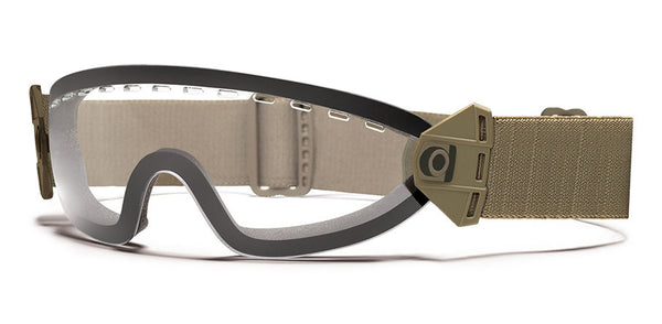 Smith - Boogie SOEP Tan Tactical Goggles / Clear Mil Spec Lenses