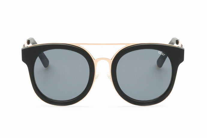 Quay Brooklyn Black / Smoke Sunglasses