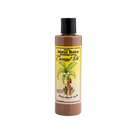 Maui Babe - Coconut Oil 8oz Browning Lotion