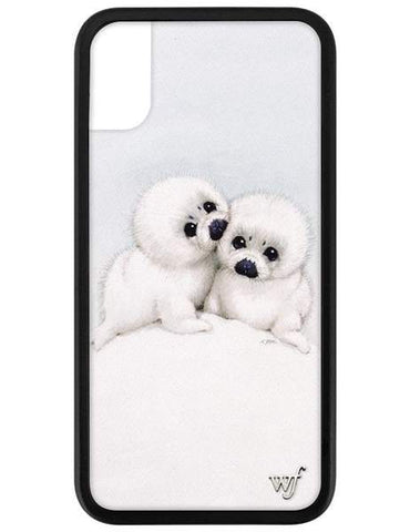 Wildflower - Baby Seals iPhone XS/X  Phone Cases /  Lenses