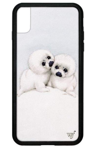 Wildflower - Baby Seals iPhone XS Max  Phone Cases /  Lenses