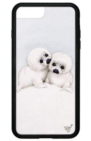 Wildflower - Baby Seals iPhone 6/7/8 Plus  Phone Cases /  Lenses