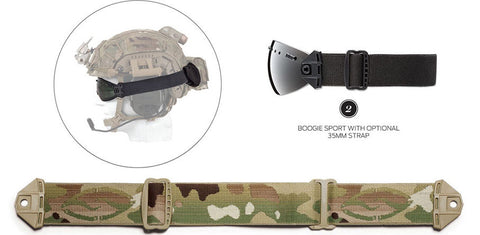 Smith - Boogie Sport Multicam 35mm  Goggle Strap /  Lenses