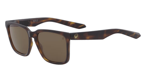 Dragon - Baile Matte Dark Tortoise Sunglasses / Brown Performance Polarized Lenses