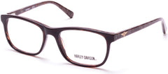 Harley-Davidson - HD0135T Shiny Dark Brown Eyeglasses / Demo Lenses