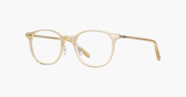Garrett Leight - Beach Blonde Silver Eyeglasses / Demo Lenses