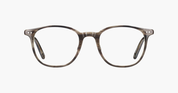 Garrett Leight - Beach Tortoise Laminate Pewter Eyeglasses / Demo Lenses