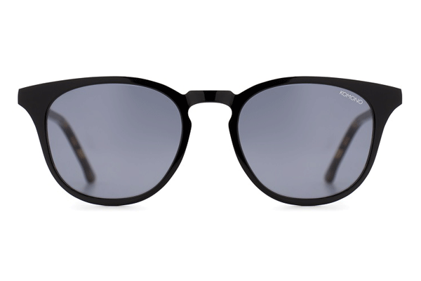 Komono The Beaumont Black Tortoise Sunglasses