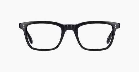 Garrett Leight - Bernard Black Eyeglasses / Demo Lenses