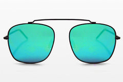 Spitfire - Beta Matrix Black Sunglasses, Green Mirror Lenses