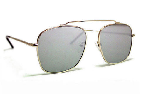 Spitfire - Beta Matrix Silver Sunglasses, Silver Mirror Lenses