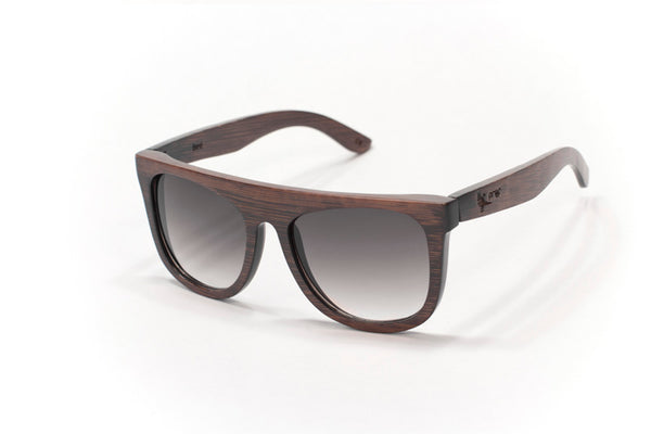 Proof Bird Stained Bamboo Sunglasses