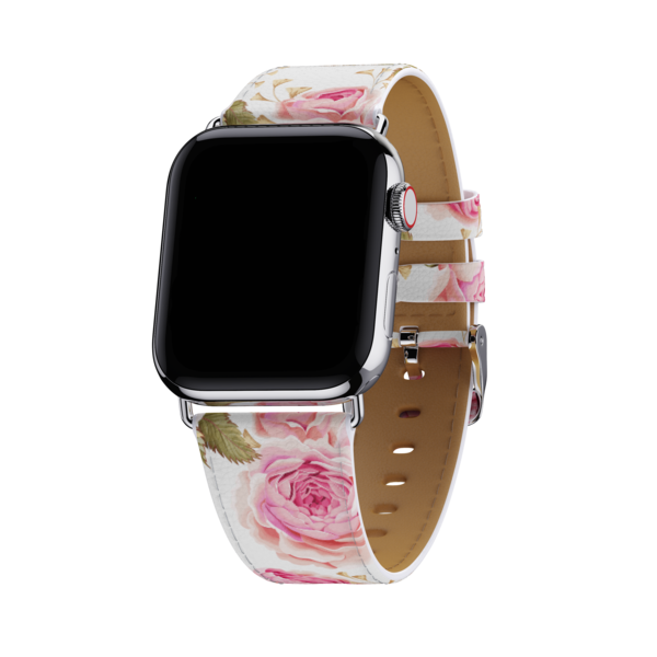 Wildflower - White Floral 38mm-40mm Apple Watch Band