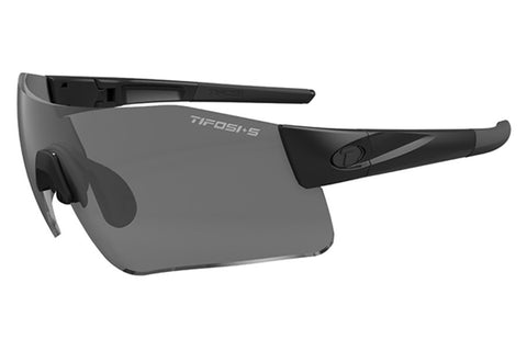 Tifosi - Blockade Tactical Matte Black Sunglasses, Clear / HC Red / Smoke Lenses
